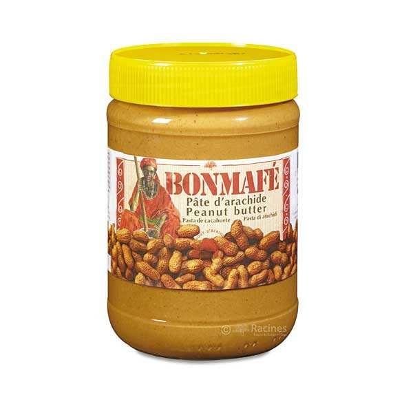 Bonmafé Pâte d'arachide - 12 pots de 500g