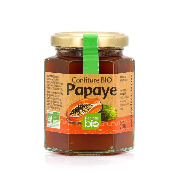 Racines Confiture bio de papaye - Pot 200g