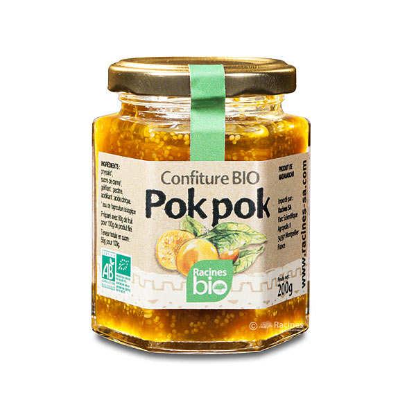 Racines Confiture bio de pok-pok - physalis - Pot 200g