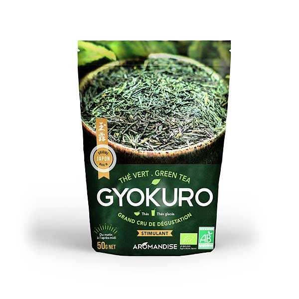 Aromandise Thé vert Gyokuro bio - Sachet 50g