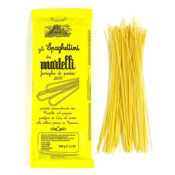 Pâtes Martelli Spaghettini Martelli - Lot 3 paquets de 1kg