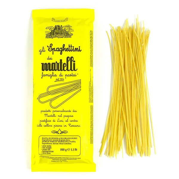 Pâtes Martelli Spaghettini Martelli - Sachet 1kg