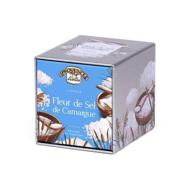 Provence d'Antan Fleur de sel de Camargue - Boite métal - Boite métal 90g