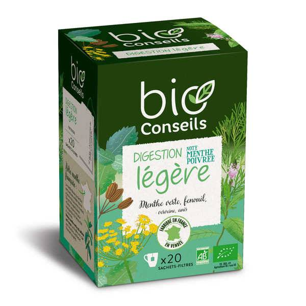 Bio Conseils Infusion digestion légère Bio - Boîte 20 sachets