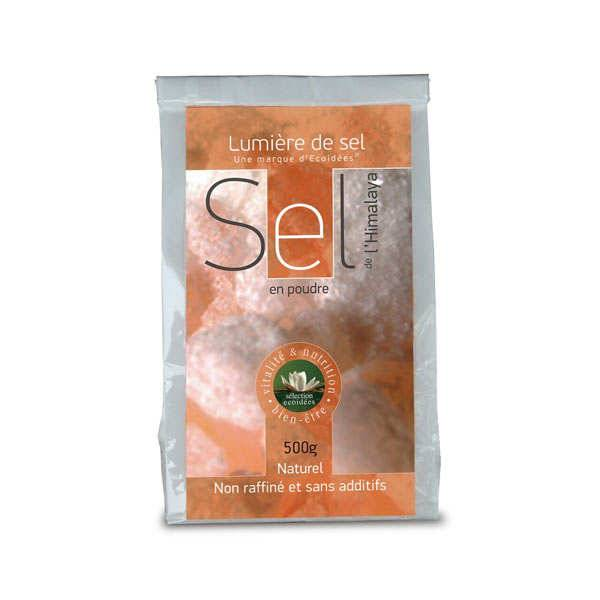 Lumière de sel Sel rose fin naturel de l'Himalaya - 10 sachets de 500g
