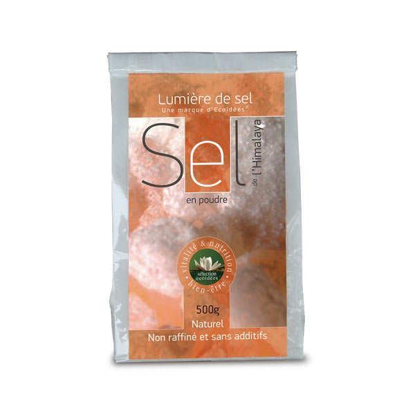 Lumière de sel Sel rose fin naturel de l'Himalaya - 6 sachets de 500g
