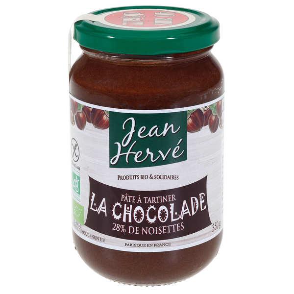 Jean Hervé La chocolade - pâte à tartiner bio - Pot 750g