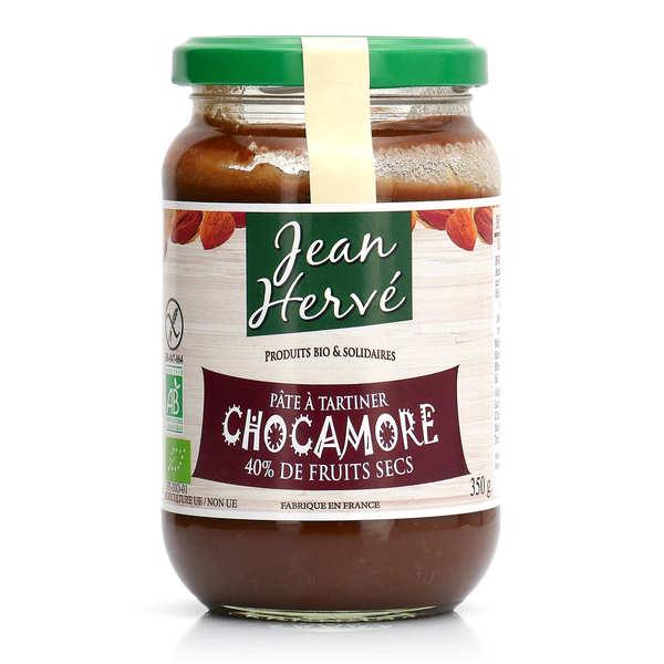 Jean Hervé Chocamore - pâte à tartiner chocolat orange amande bio - Pot 350g