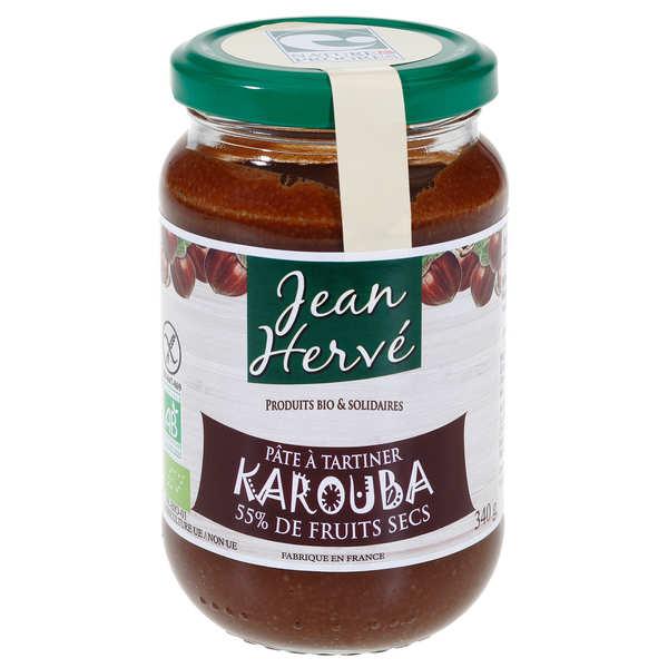 Jean Hervé Karouba - pâte à tartiner sans lait  bio - Pot 340g
