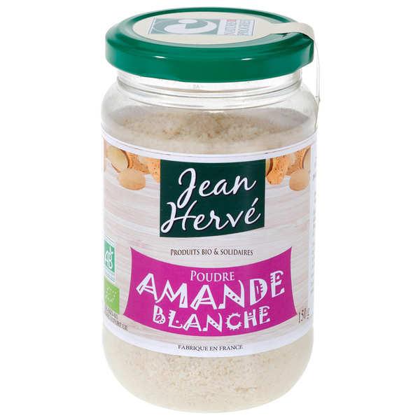 Jean Hervé Poudre d'amande blanche bio - Pot 300g