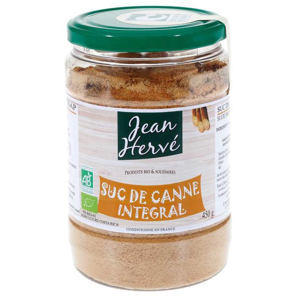 Jean Hervé Sucanat - Sucre de canne intégral bio - Boite 450g