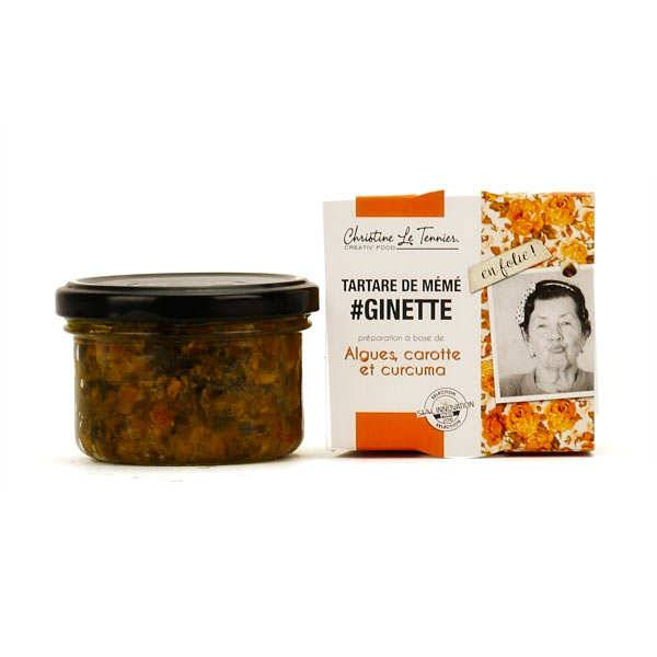 Christine Le Tennier Tartare d'algues à la carotte et au curcuma - Pot de 90g