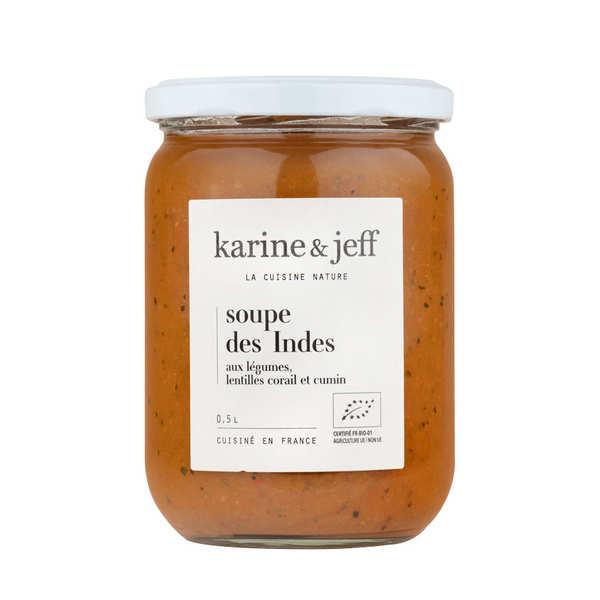 Karine & Jeff Soupe des Indes bio - Bouteille 50cl