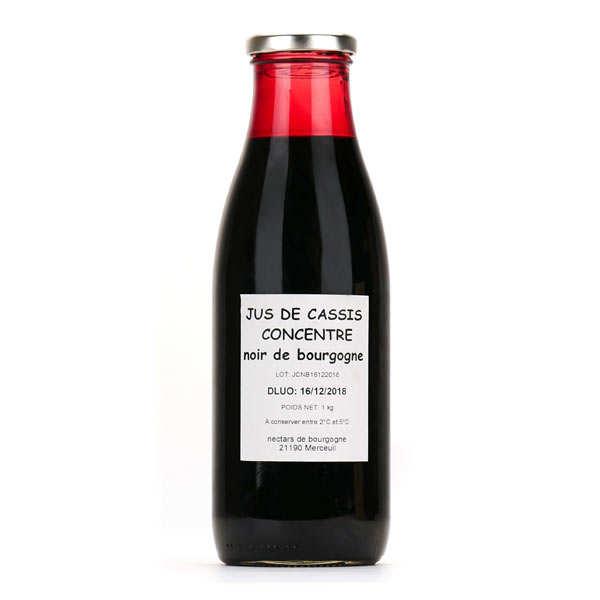Emmanuelle Baillard Jus concentré de cassis noir de Bourgogne - Bouteille 75cl