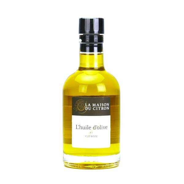 La Maison du Citron Huile d'olive au citron de Menton - Bouteille 200ml