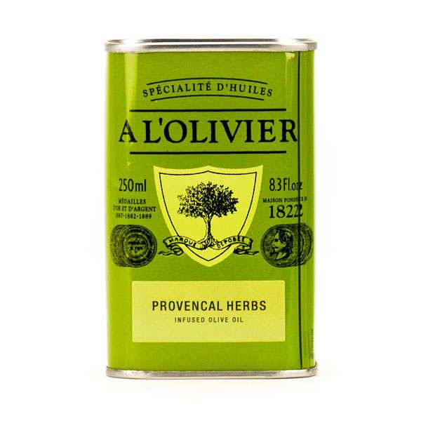A L'Olivier Huile d'olive vierge extra aux herbes de Provence - Bidon 250ml