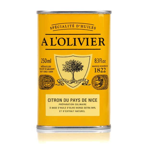 A L'Olivier Huile d'olive vierge extra au citron du pays de Nice - Bidon 250ml