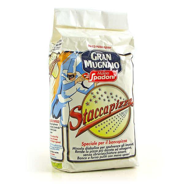 Molino Spadoni Staccapizza - Farine à pizza spéciale plan de travail - 10 paquets de 1kg