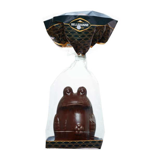 Belledonne Chocolatier Grenouille chocolat noir Bio - 3 grenouilles de 100g