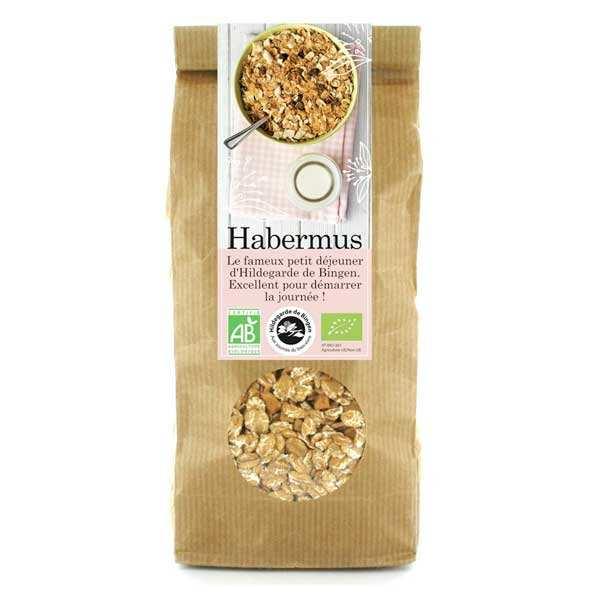 Aromandise Habermus - muesli bio épeautre pomme cannelle Hildegarde de Bingen - Lot de 3 sachets 375g