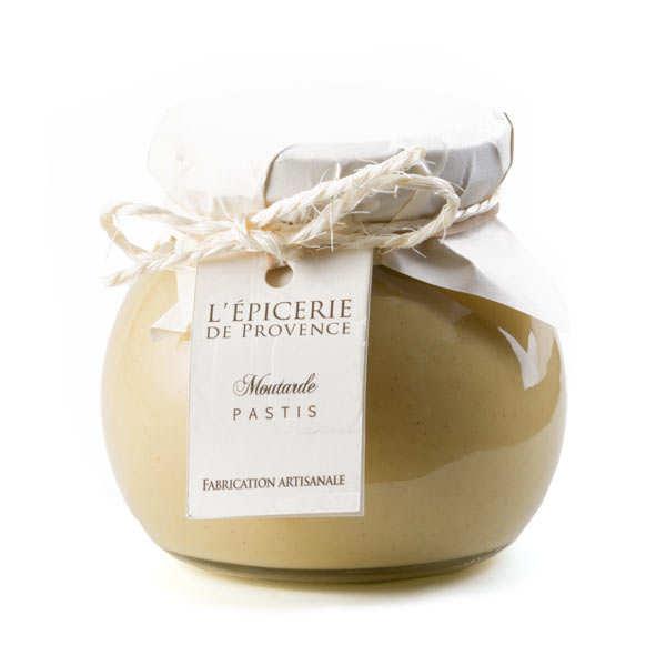 Epicerie de Provence Moutarde au Pastis - Pot 190g