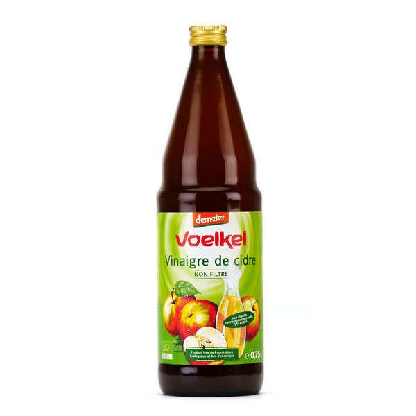 Voelkel GmbH Vinaigre de cidre bio Demeter - Voelkel - Lot de 6 bouteilles de 75cl