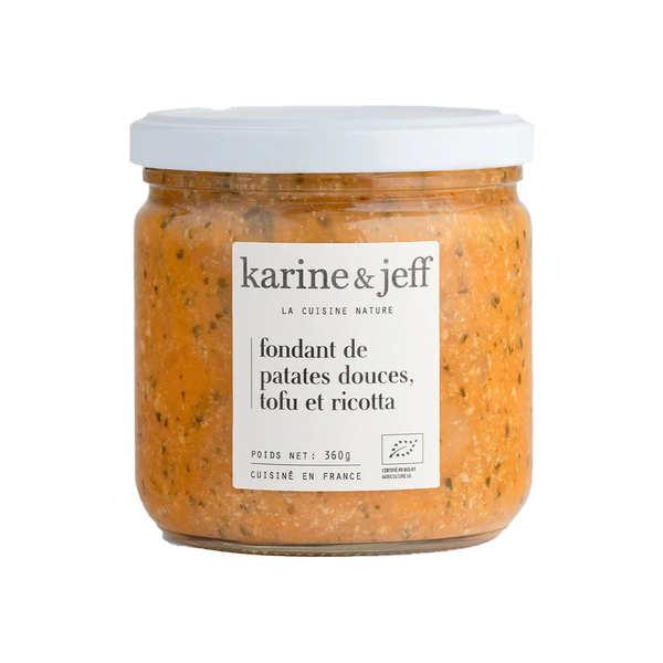 Karine & Jeff Fondant de patates douces, tofu et ricotta bio - Bocal 360g