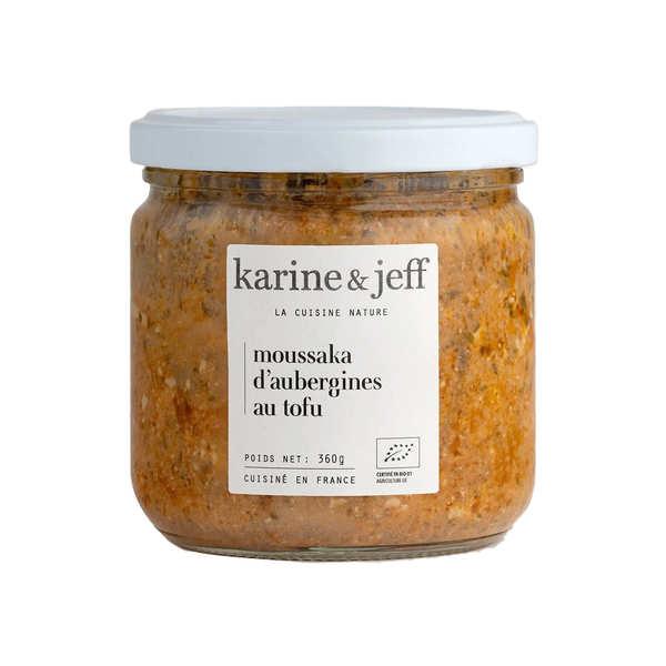 Karine & Jeff Moussaka d'aubergines au tofu bio - 3 bocaux de 380g
