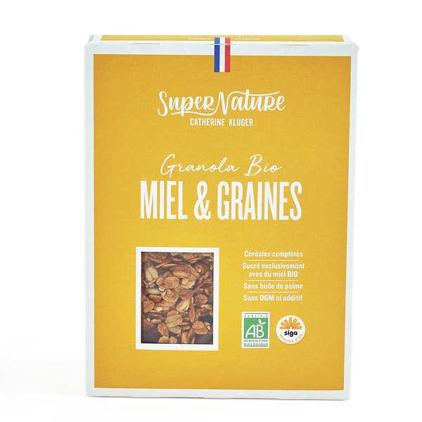 Granola Catherine Kluger Granola au miel et aux graines bio - Boite 350g