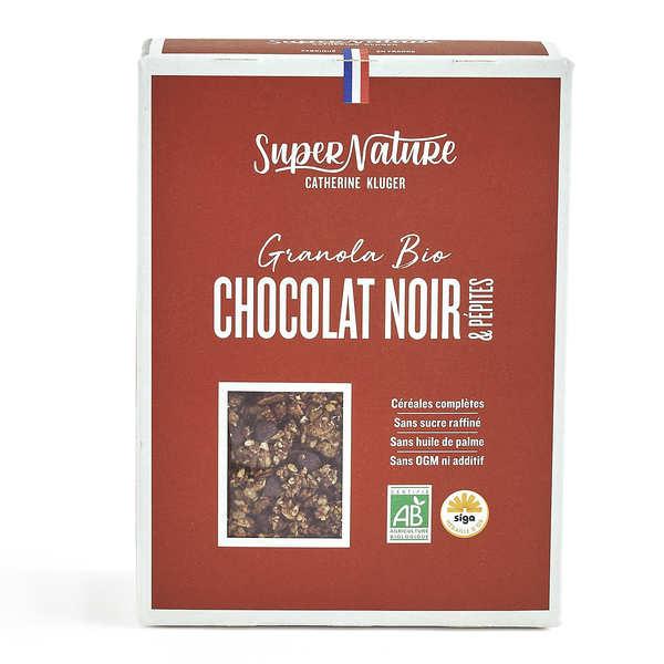 Granola Catherine Kluger Granola bio au chocolat noir et pépites - Boite 350g