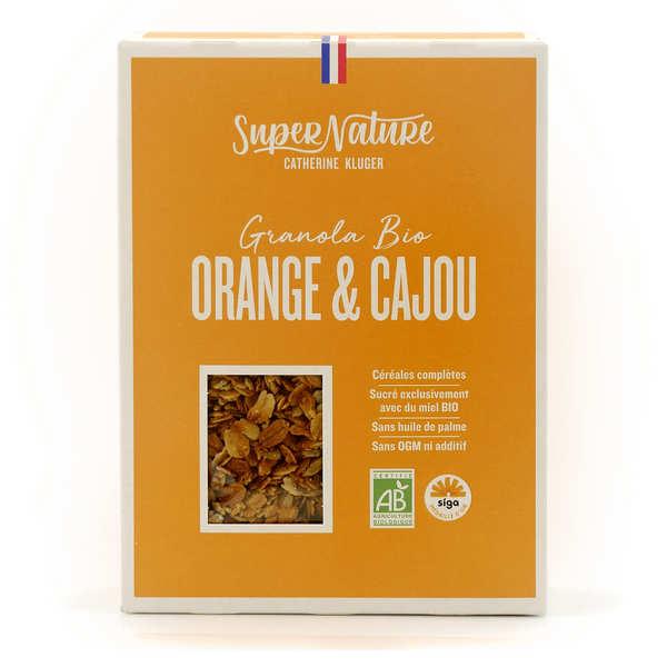 Granola Catherine Kluger Granola à l'orange et à la noix de cajou bio - Boite 350g