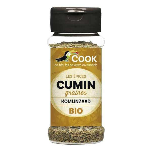 Cook - Herbier de France Cumin graines bio - Flacon 40g