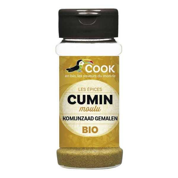 Cook - Herbier de France Cumin moulu bio - Flacon 40g