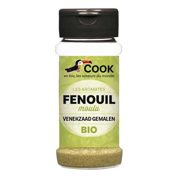 Cook - Herbier de France Fenouil poudre bio - Flacon 30g