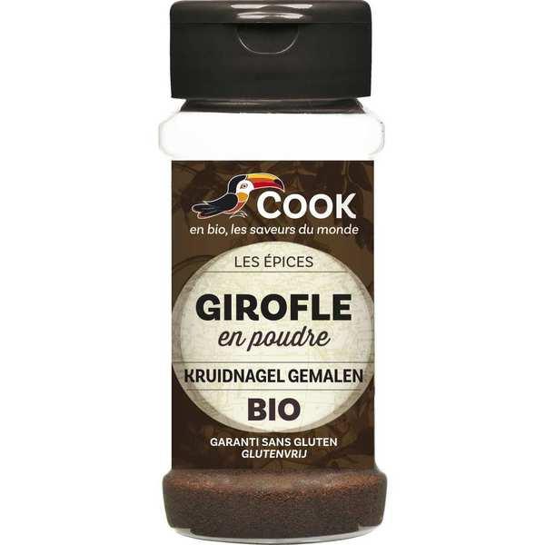Cook - Herbier de France Girofle poudre bio - Flacon 45g