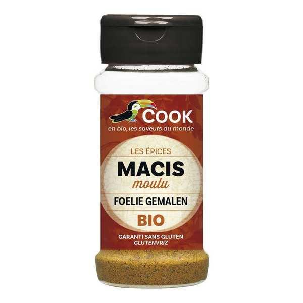 Cook - Herbier de France Macis poudre bio - Flacon 45g