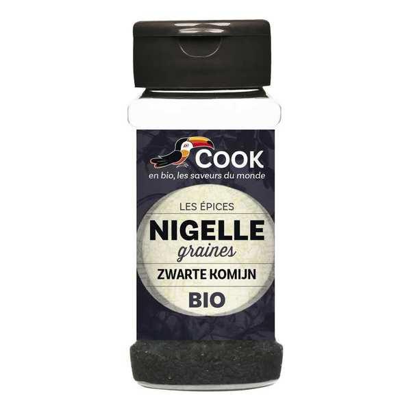 Cook - Herbier de France Nigelle graines bio - Flacon 50g