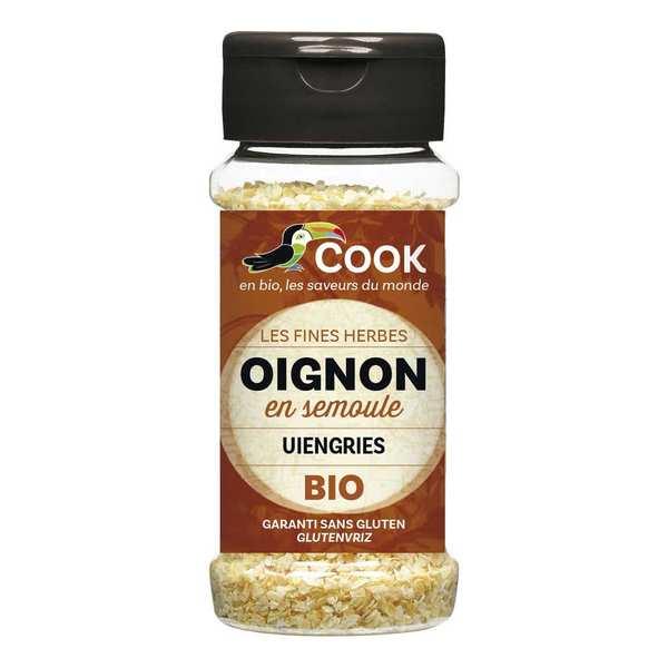Cook - Herbier de France Oignon en semoule bio - Flacon 55g