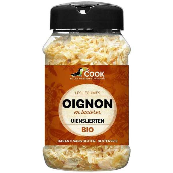 Cook - Herbier de France Oignon en lanières bio - Flacon 125g