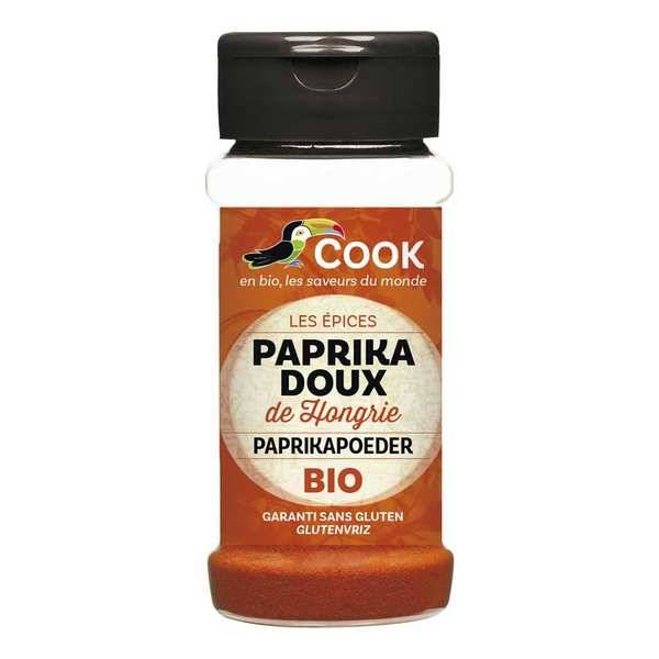 Cook - Herbier de France Paprika doux de Hongrie bio - Flacon 40g