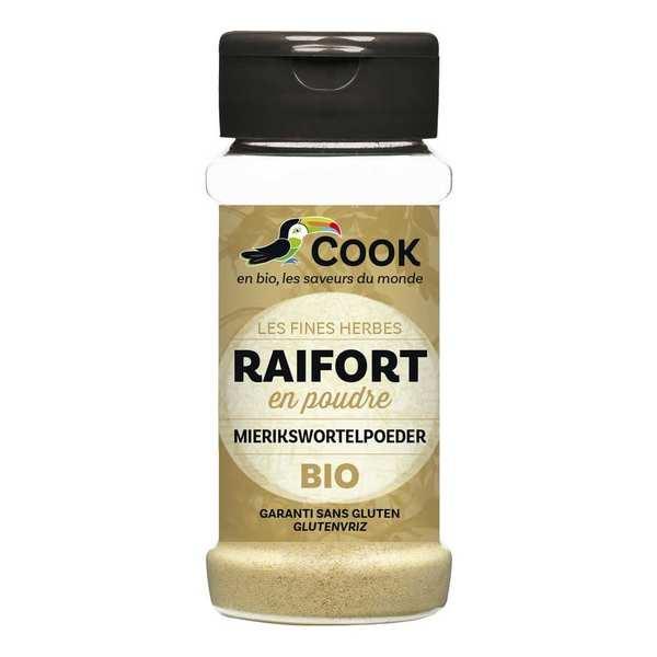 Cook - Herbier de France Raifort en poudre bio - Flacon 45g