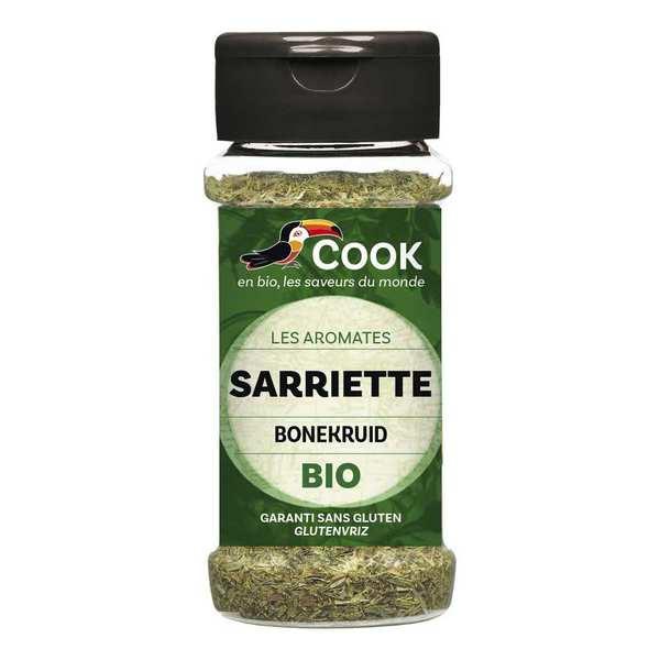 Cook - Herbier de France Sarriette feuilles bio - Flacon 20g