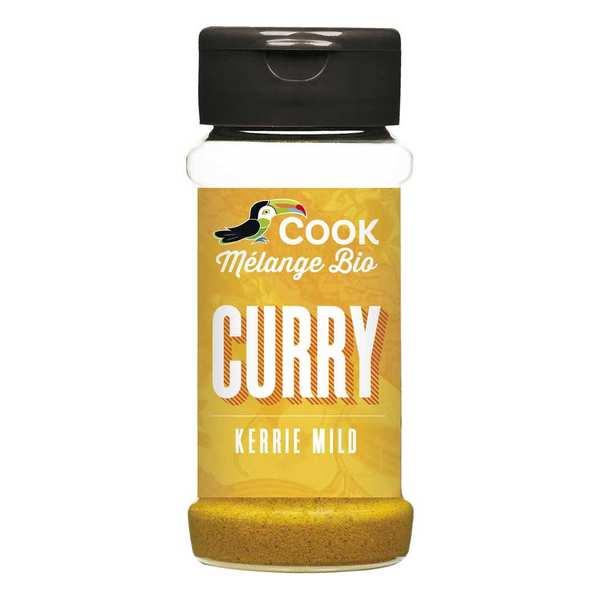 Cook - Herbier de France Curry bio - 3 flacons de 35g