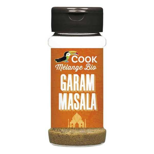 Cook - Herbier de France Garam masala bio - Flacon 35g