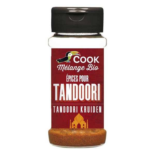 Cook - Herbier de France Epices pour tandoori bio - Flacon 35g
