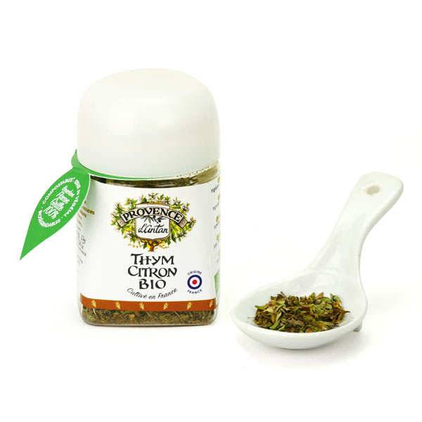 Provence d'Antan Thym citron Bio - Cultivé en France - Pot biodégradable 8g