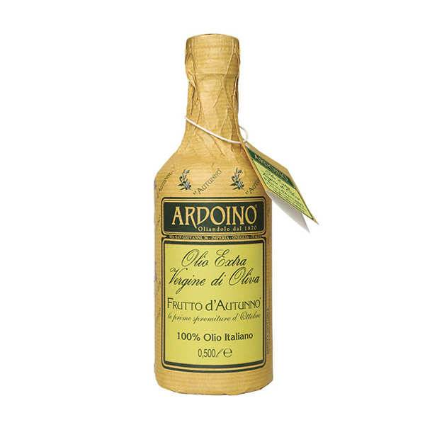 Ardoino Huile d'olive extra vierge italienne Ardoino - Frutto d'Autunno - Récolte 2018/2019 - Bouteille 50cl