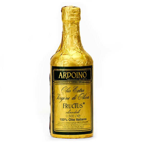 Ardoino Huile d'olive extra vierge italienne Ardoino - Fructus - Bouteille 50cl