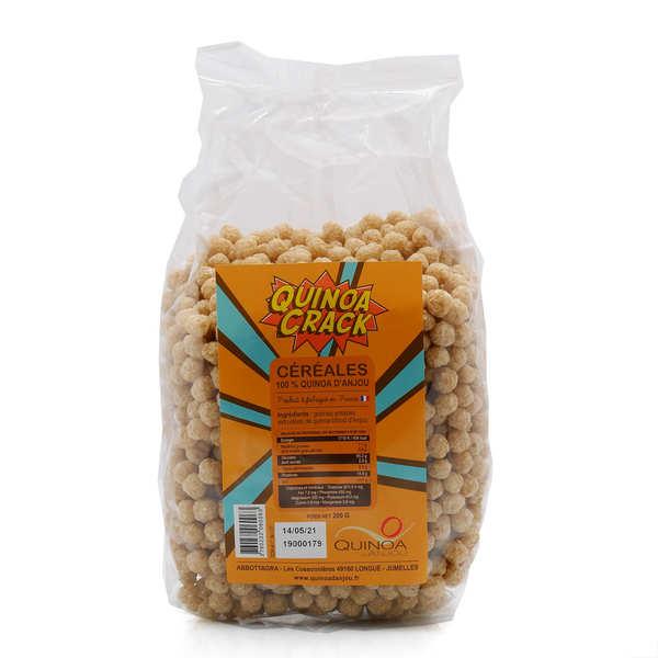 Quinoa d'Anjou Quinoa crack - Céréales françaises d'Anjou - Sachet 200g