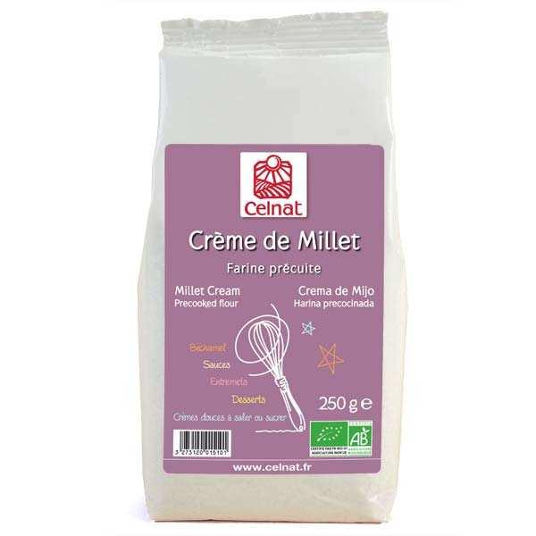 Celnat Crème de millet - bio - Sachet 250g